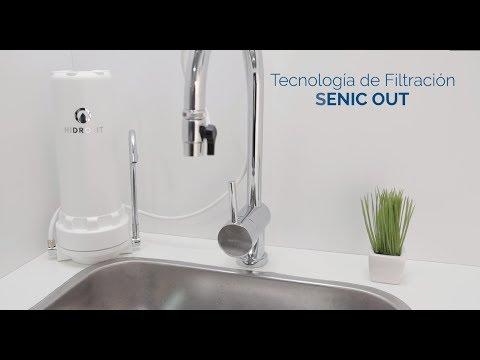 Purificador de Agua SENIC OUT Hidrolit Elimina Arsénico, Cloro, Metales Pesados